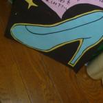 ○○○の靴です